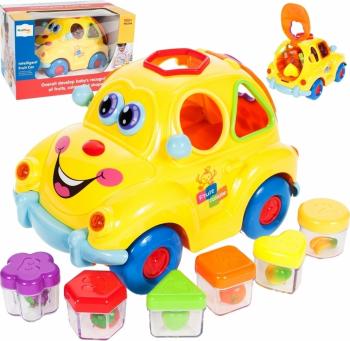 Masina cu sortator de fructe + muzica Malplay 100028
