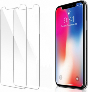 Set 2 Folii de Protectie Premium Tempered Glass pentru Iphone XS Max 9H Folii Protectie