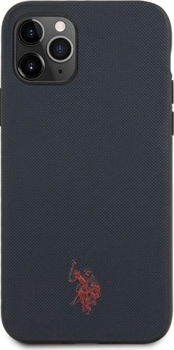 Husa Premium Originala Us Polo Assn iPhone 11 Pro Albastru Navy Huse Telefoane