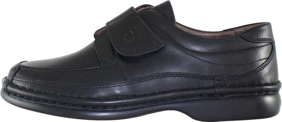 Pantofi casual barbati piele naturala - Gitanos negru - Marimea 42