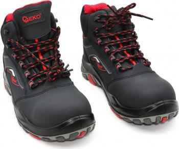 Bocanci de protectie GEKO model 9 S3 SRC marimea 42 culoare negru Articole protectia muncii