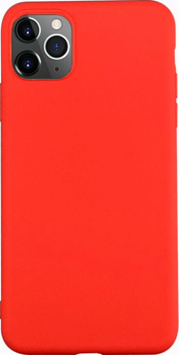 Husa Ultra Slim Upzz Candy Pentru iPhone 11 Pro 1mm Grosime Rosu Huse Telefoane