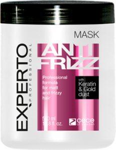 Masca anti incretire cu cheratina Anti-frizz Experto Professional 500 ml cod.4108 Masca