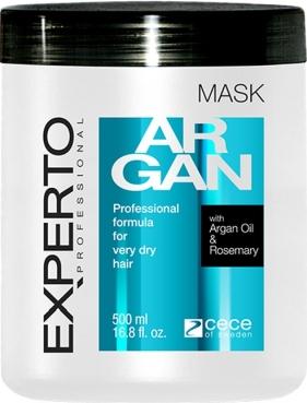 Masca cu argan pentru par foarte uscat - Experto Professional 500 ml cod.4116 Masca
