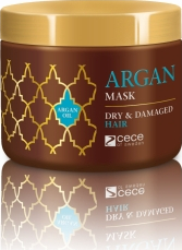 Masca cu ulei Bio de argan pentru par degradat - Dry and Damaged Hair Mask Argan Cece of sweden 250 ml cod 4520 Masca