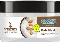 Masca de par cu crema de cocos si migdale pentru hidratare regenerare si netezire Vegan Dessert Spa 250 ml.cod 0288. Masca