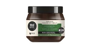 Masca pentru par cu ulei Bio de Canabis pentru Flexibilitate and Relaxare Hello Nature 250 ml cod 1569 Masca