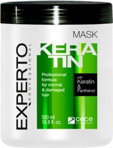 Masca pentru par - regenerare in profunzime cu cheratina si pantenol Experto Professional 500 ml cod.4113 Masca