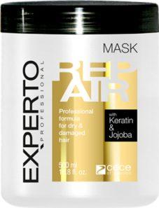 Masca reparare si intarire cu cheratina si ulei de macadamia Experto Professional 500 ml cod.4102 -2 Masca