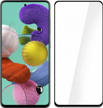 Folie protectie Premium Samsung Galaxy A 21 S Full Cover Black 6D Full Glue Sticla securizata Transparent Negru Folii Protectie
