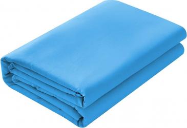 Cearsaf de pat 220/240cm Satinat bumbac 100 Blue Lenjerii de pat