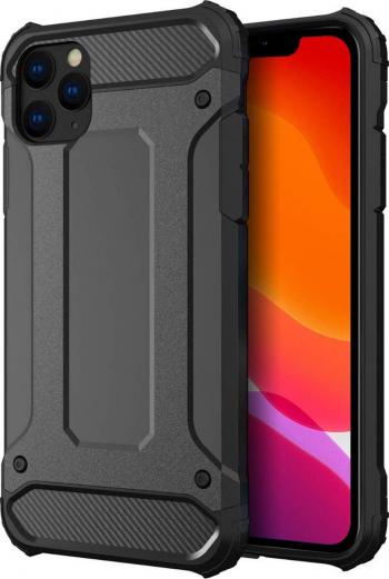 Husa Armor Upzz iPhone 11 Pro Max Anti-shock Silicon Si Policarbonat negru Huse Telefoane