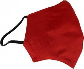 Masca rosie anatomica din bumbac reutilizabila Masti chirurgicale si reutilizabile