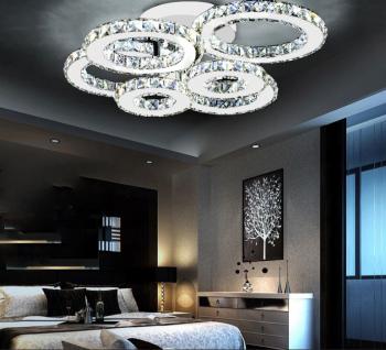Lustra LED Creative Krystal 6 Alb Mini Corpuri de iluminat