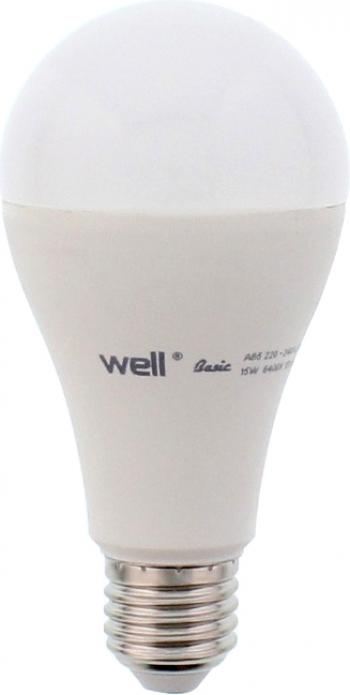 Bec cu led A65 E27 15W 230V lumina naturala Basic Well Corpuri de iluminat