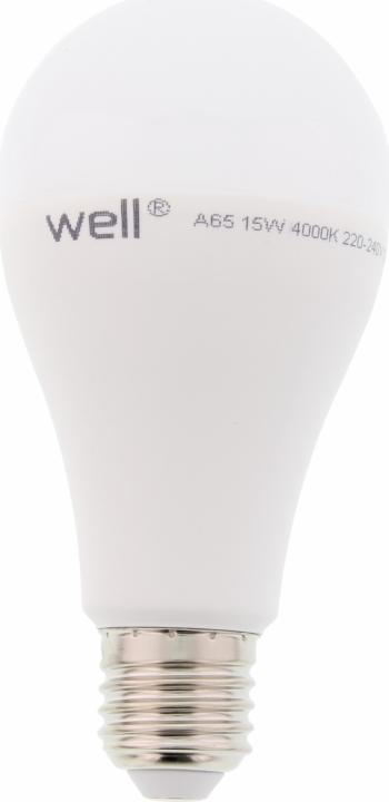 Bec cu led A65 E27 15W 230V lumina naturala Well Corpuri de iluminat