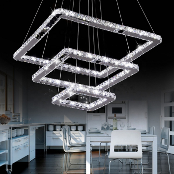 Candelabru LED Creative Crystals Pyramid Corpuri de iluminat