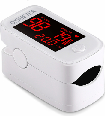 Pulsoximetru de deget FINGERTIP YM101 / Profesional / Rapid / Senzor de mare precizie / Avizat Medical Pulsoximetre