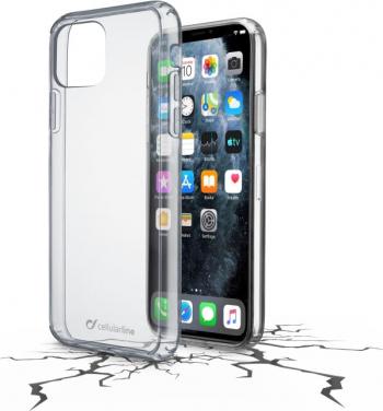 Husa Cover Cellularline Hard pentru iPhone 11 Pro Max Transparent Huse Telefoane