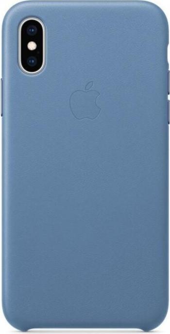 Husa Cover Leather Apple pentru iPhone X/XS MVFP2ZM/A Blue