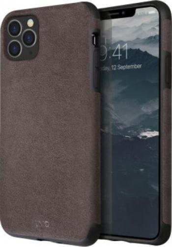 Husa Cover Leather Uniq Sueve pentru iPhone 11 Pro Max UNIQ-IP6.5HYB 2019 -SUVWGY Gri Huse Telefoane