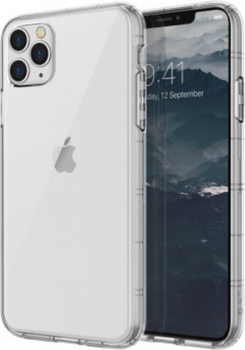 Husa Cover TPU Uniq Air Fender Antisoc pentru iPhone 11 Pro Max Transparent Huse Telefoane
