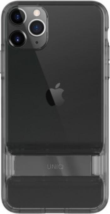 Husa Cover TPU Uniq Cabrio cu Suport Reglabil pentru iPhone 11 Pro Gri Huse Telefoane