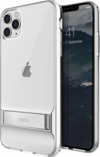 Husa Cover TPU Uniq Cabrio cu Suport Reglabil pentru iPhone 11 Pro Max Transparent Huse Telefoane