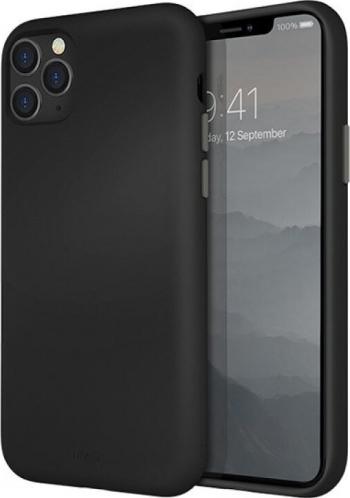 Husa Cover TPU Uniq Lino pentru iPhone 11 Pro Max LINOHBLK Negru Huse Telefoane
