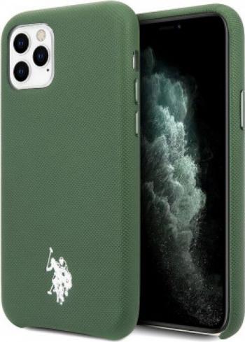 Husa Cover US Polo TPU Wrapped pentru iPhone 11 Pro Max USHCN65PUGN Green Huse Telefoane