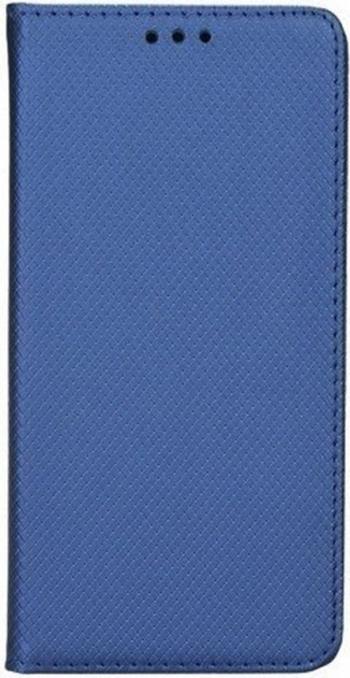 Husa G-Tech tip carte compatibila cu Huawei P Smart S premium book inchidere magnetica buzunar card Albastru Huse Telefoane