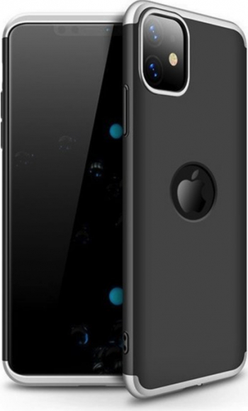 Husa Shield 360 GKK pentru iPhone 11 Pro Max BlackSilver Huse Telefoane