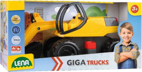 LENA - GIGA TRUCKS EXCAVATOR PRO - 02141 - 80 CM Jucarii