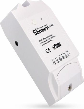 Releu wireless WiFi Sonoff dual