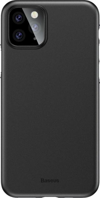 Husa Spate Ultra Slim Baseus Wing iPhone 11 Pro Negru 0 45mm Grosime Huse Telefoane