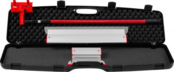 KIT Gletiere Profesionale Premium ZuperPRO - Set 2 Gletiere 25/60 cm + Prelungitor 1.6m + Carcasa XL lama INLOCUIBILA din INOX 0.3 mm