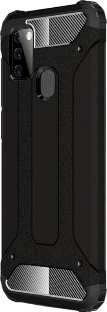 Husa Antisoc Forcell Armour pentru Samsung Galaxy A21s Negru Huse Telefoane