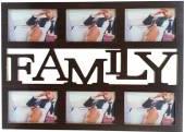Rama colaj - Family - 6 fotografii 52x37 cm Rame Foto