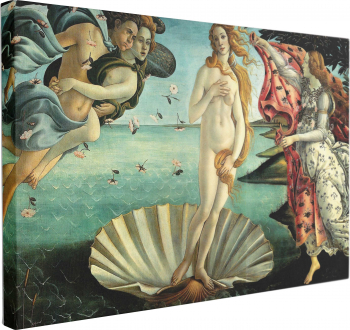 Tablou Canvas Birth of Venus 60 x 90 cm 100 Poliester Tablouri