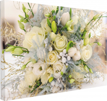 Tablou Canvas Buchet de Trandafiri 50 x 70 cm 100 Bumbac Tablouri