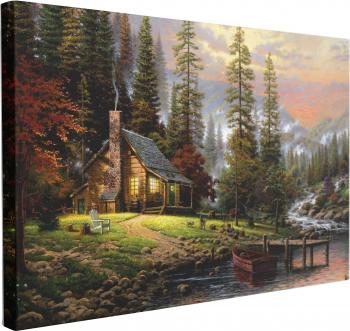 Tablou Canvas Cabana Ideala 70 x 100 cm 100 Bumbac Tablouri