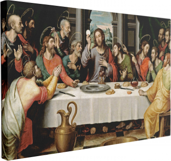 Tablou Canvas Cina Cea de Taina by Juan de Juanes 50 x 70 cm 100 Poliester Tablouri