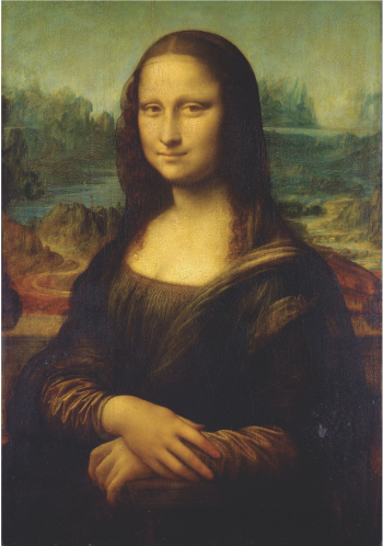 Tablou Canvas Mona Lisa 40 x 60 cm 100 Poliester Tablouri