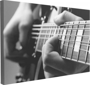Tablou Canvas Play the Guitar 70 x 100 cm 100 Bumbac Tablouri