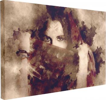 Tablou Canvas Portret Artistic 70 x 100 cm 100 Bumbac Tablouri