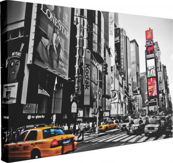 Tablou Canvas Times Square New York 70 x 100 cm 100 Bumbac Tablouri