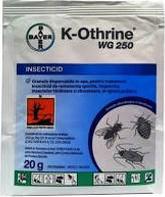 Insecticid K-Othrine WG 250 20 g Capcane antirozatoare si insecte