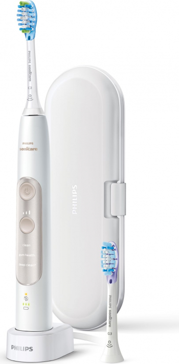 Periuta de dinti electrica Philips Sonicare 7300 ExpertClean Sound Technology Bluetooth BrushSync Smart Sensors Built-in 3 programe 2