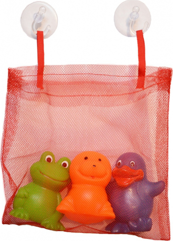 JUCARII BAIE - Set figurine baie cu saculet pentru depozitare