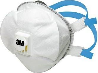 Masca de protectie tip cupa cu supapa reuilizabila FFP2 3M and trade 8825 Articole protectia muncii